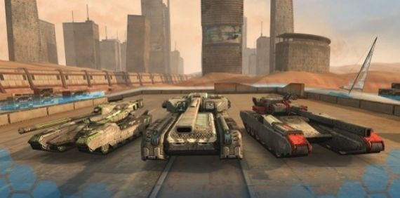 未来坦克截图1