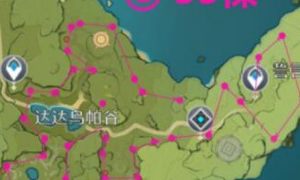 原神萃华木分布位置一览