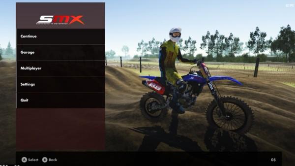 超级摩托越野赛SMX截图3