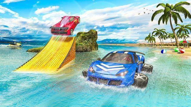水中漂浮汽车截图1