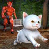 可怕的猫宠物恐怖逃生