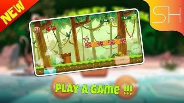 小小猴丛林冒险截图1