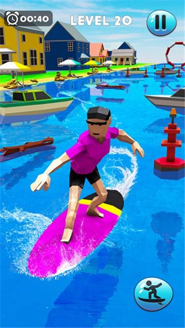 疯狂的水上冲浪特技截图4