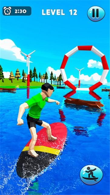 疯狂的水上冲浪特技截图3
