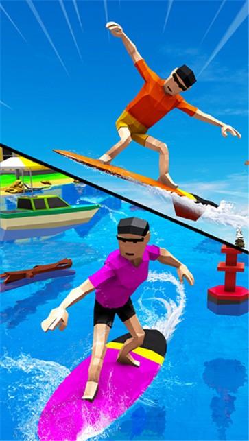 疯狂的水上冲浪特技截图2
