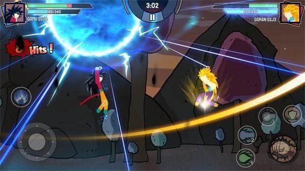 火柴英雄超级战争截图3