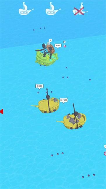 战舰战斗截图3