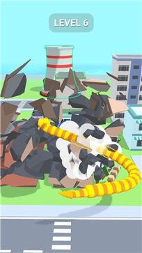 贪吃蛇摧毁城市截图1