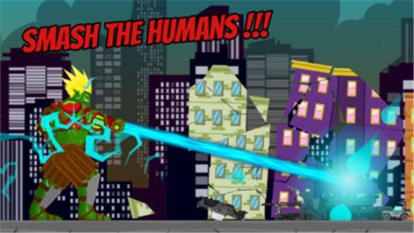 绿巨人摧毁城市截图1