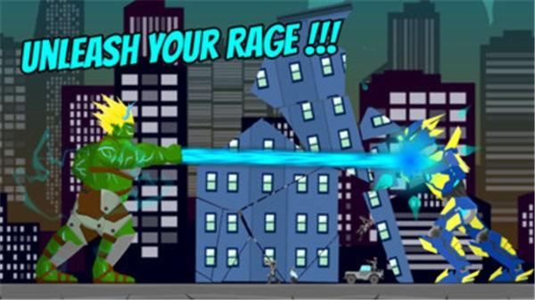 绿巨人摧毁城市截图2