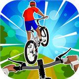疯狂自行车游戏