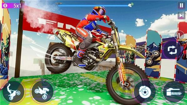 真正摩托车特技比赛截图3