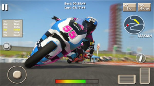 速度摩托赛车截图3