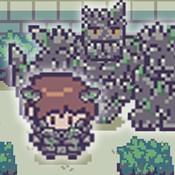 像素砖块怪物破碎RPG