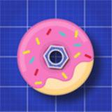 甜甜圈逃脱了