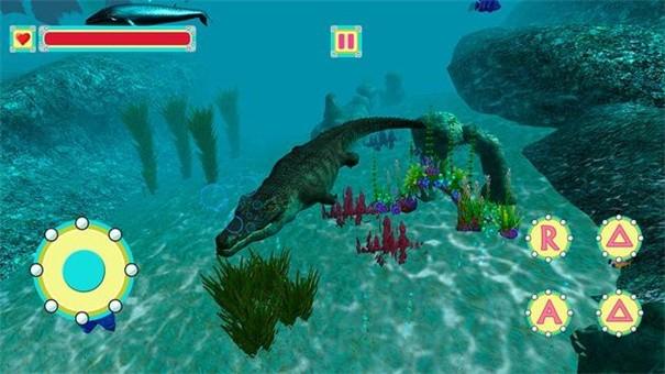 水下鳄鱼模拟器截图2