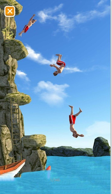 极限特技跳水模拟器截图1