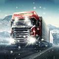 冬季卡车驾驶员