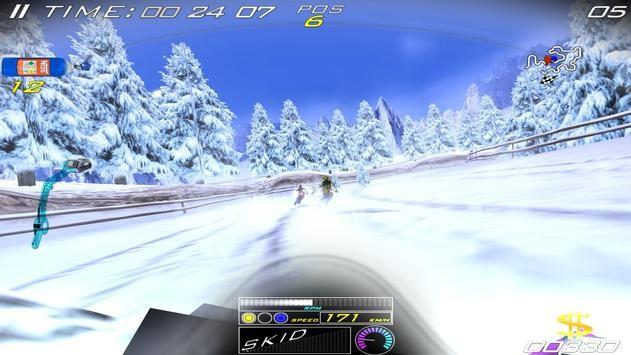 雪地极限自行车截图2