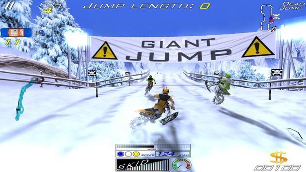 雪地极限自行车截图1