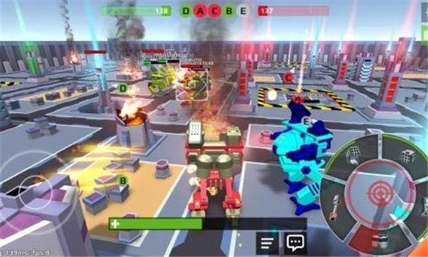 像素机器人战场截图1