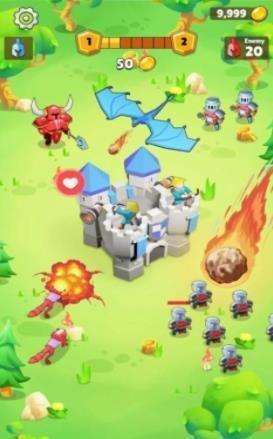 自动竞技城堡塔防截图2