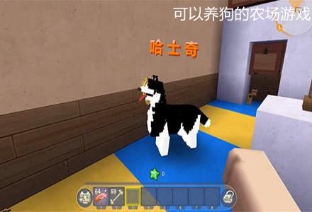 可以养狗的农场游戏