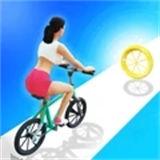 小姐姐骑单车