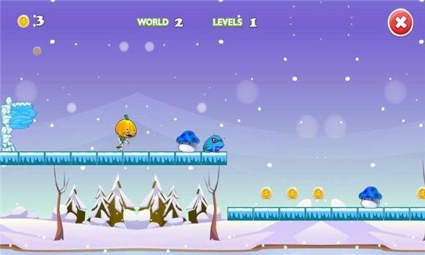 雪人跳跃跑截图2