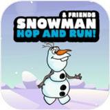 雪人跳跃跑