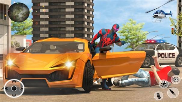 绿蜘蛛超人之城截图2