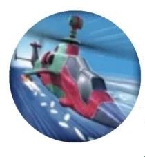 模拟灭火飞机