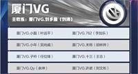 王者荣耀厦门VG战队成员2021有哪些