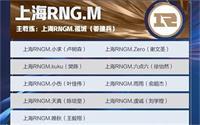 王者荣耀rngm战队成员2021有哪些