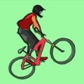 跳跃的自行车跑酷