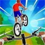 飞行自行车特技