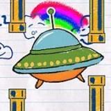 纸上UFO