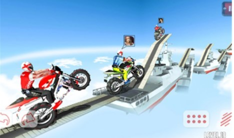 越野摩托屋顶赛截图3