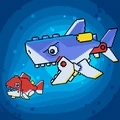 像素鱼进化