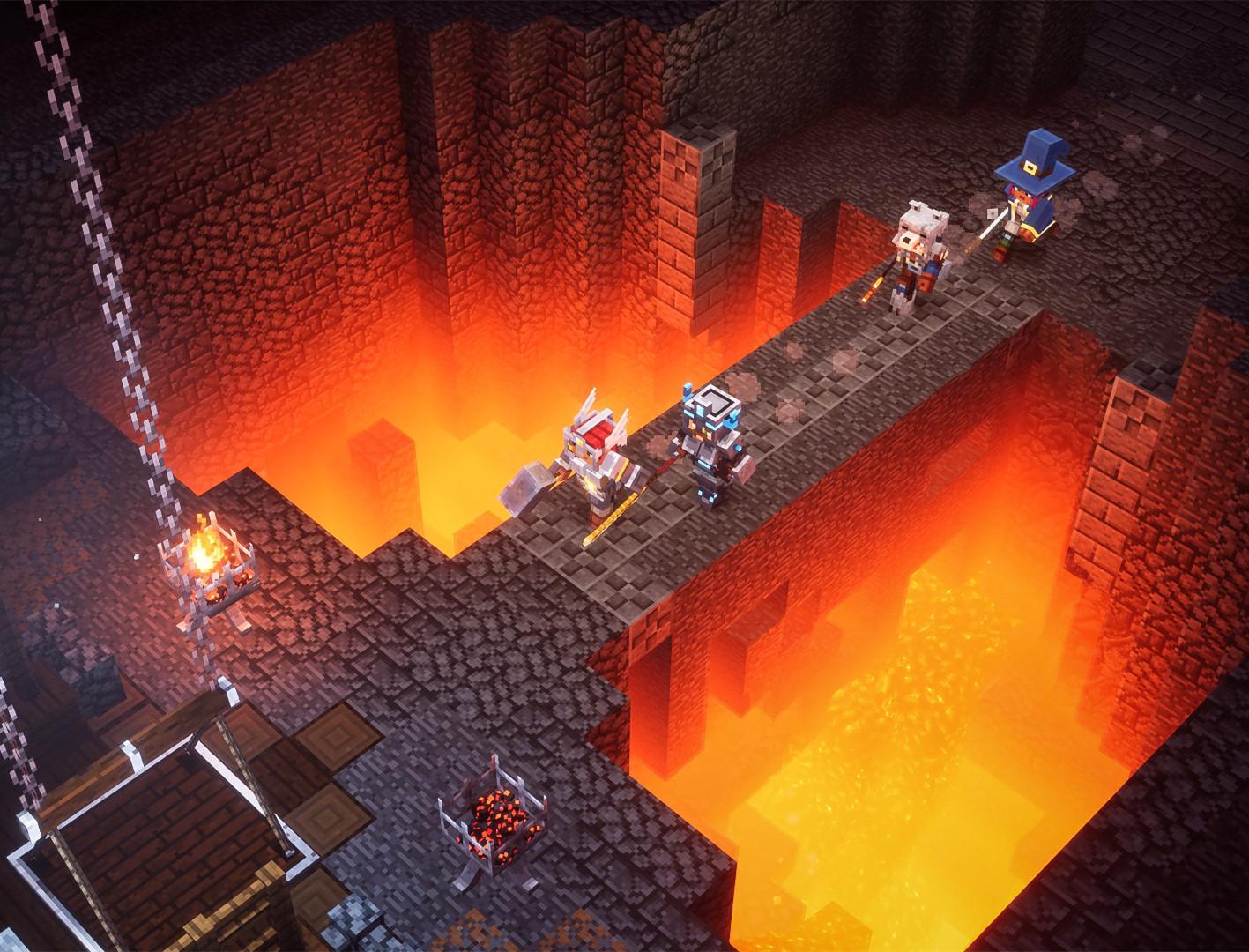 我的世界:地下城Steam版发售 获玩家特别好评